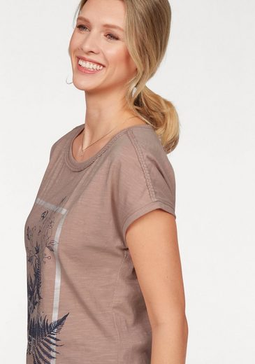 Cheer T-Shirt, mit Flechtapplikation