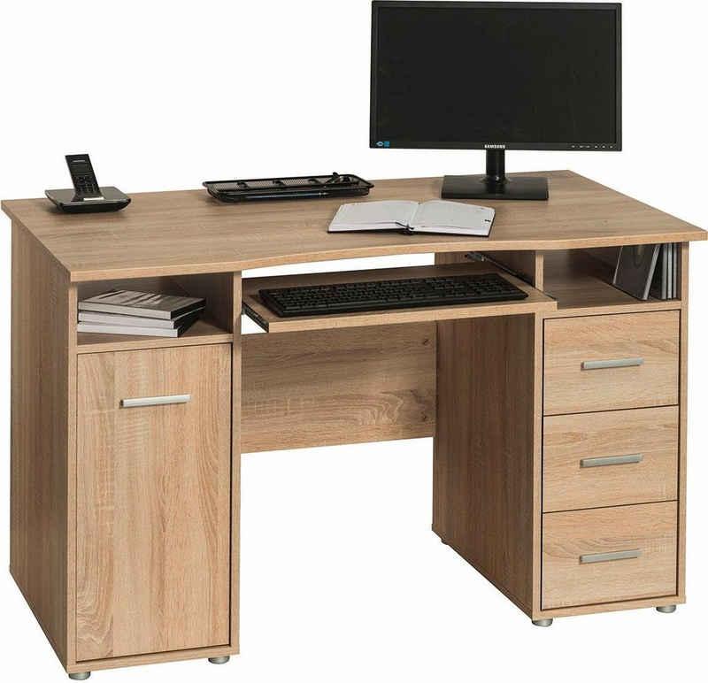 Maja Möbel Schreibtisch »4029«, mit 3 Schubkästen und 1 Tür