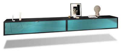 Vladon Lowboard »Lana« (Set, 2 St), Breite 140 cm pro Element