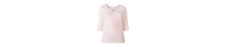 sheego Casual 3/4-Arm-Shirt, in Oilwashed-Optik, jedes Teil ein Unikat