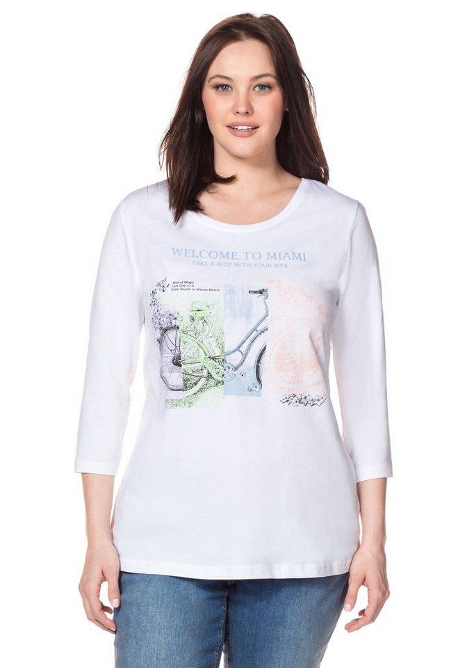 sheego Casual 3/4-Arm-Shirt, mit Frontdruck kaufen | OTTO