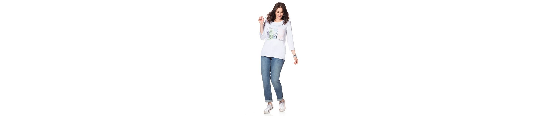 sheego Casual 3/4-Arm-Shirt, mit Frontdruck
