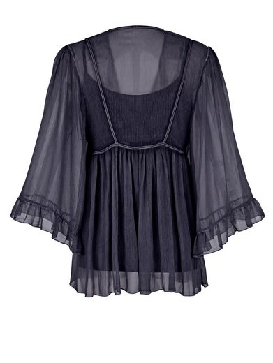 Alba Moda 2-in-1-tunic Fashionable Oildye Staining