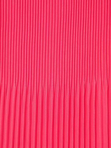 Alba Moda Plisseetop aus Chiffon mit asymmetrischem Saum
