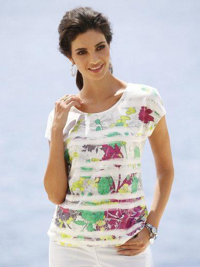 Mona Shirt mit Floraldruck