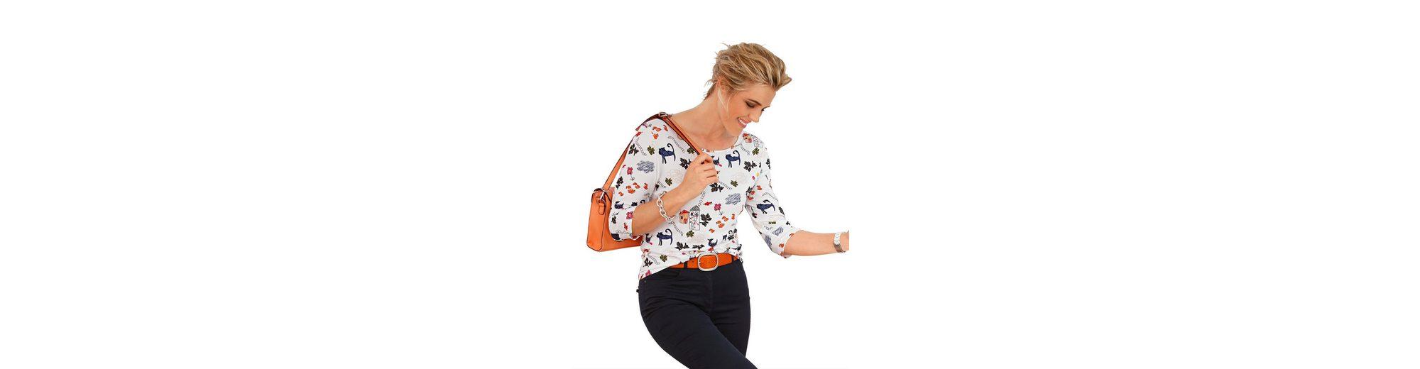 Alle Jahreszeiten Verfügbar Mona Shirt mit farbenfrohem Phantasie-Druck Billig Verkauf Der Neue Ankunft Neuesten Kollektionen Günstig Online Freies Verschiffen Sast jIrxrynL3C