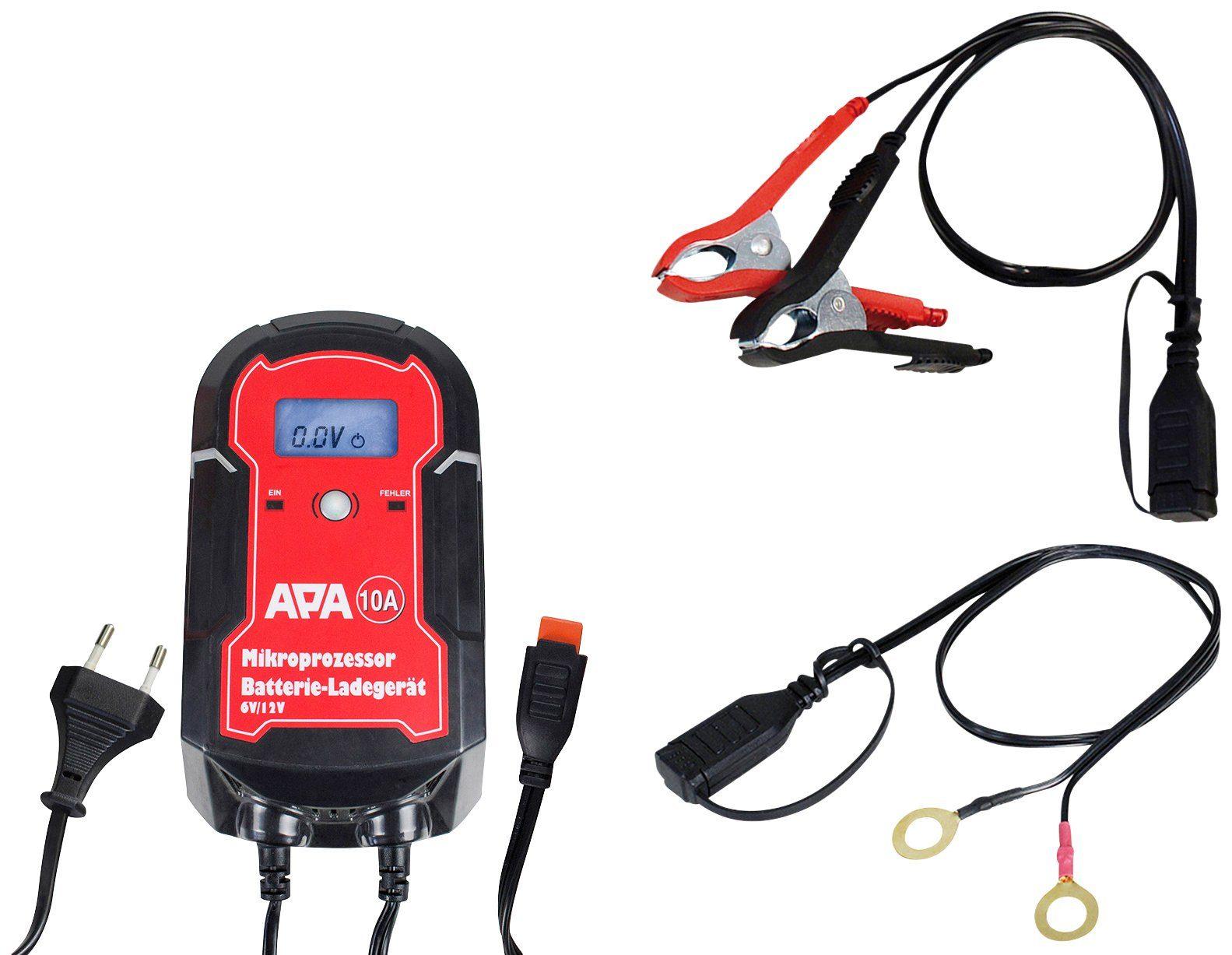 APA Batterieladegerät »6/12V 10A«