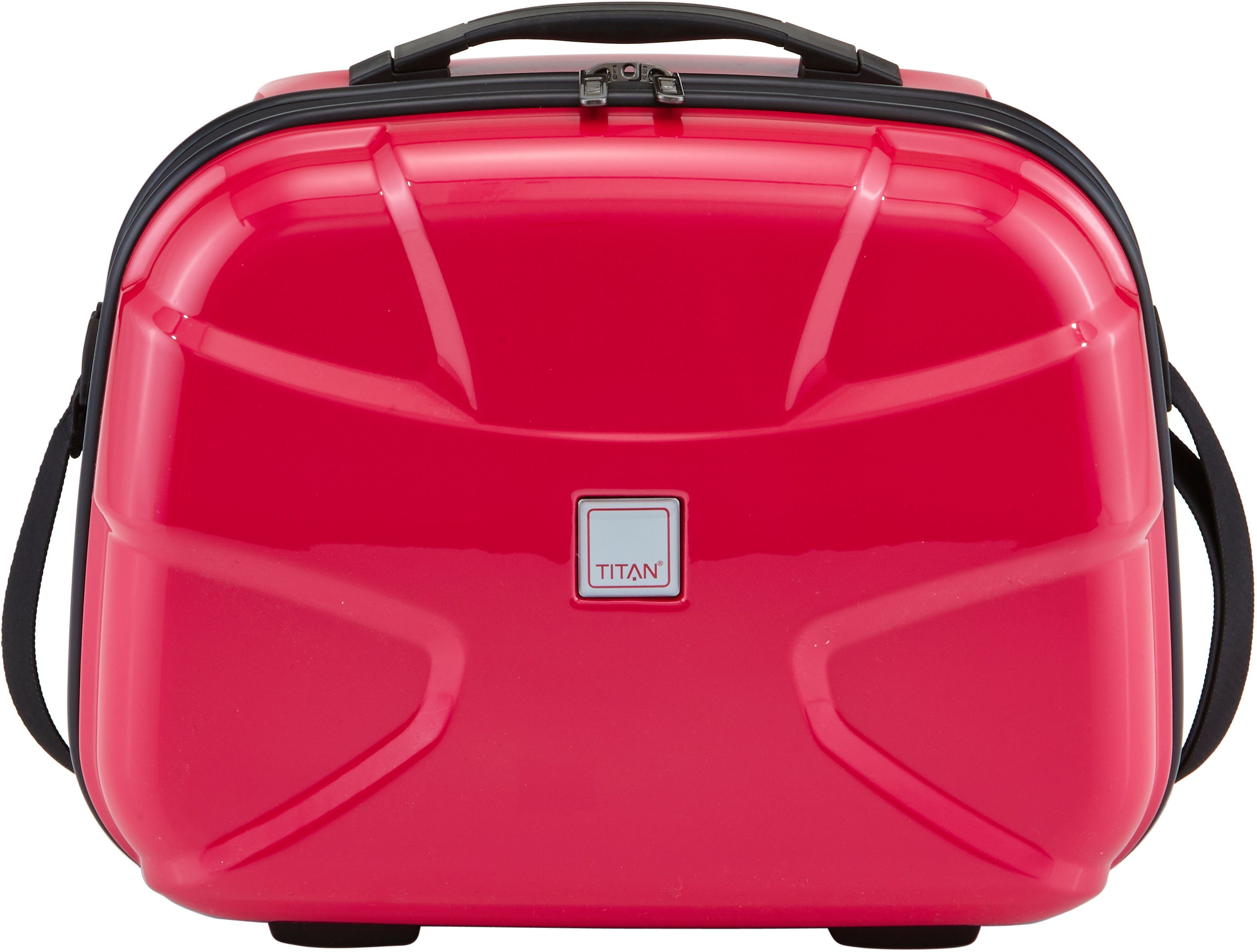 TITAN® Beautycase mit Flash Oberfläche, »X2, fresh pink«