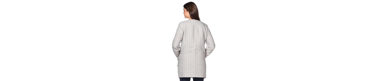 sheego Style Kurzmantel, Zwei aufgesetzte Taschen mit Zierpatten