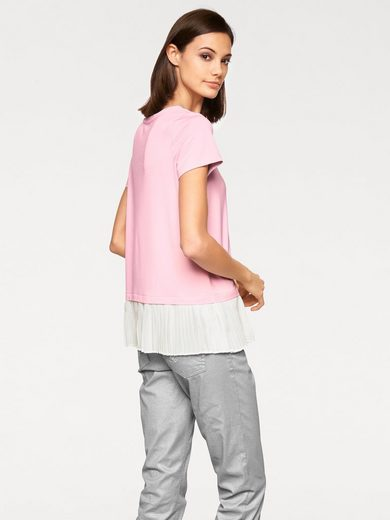 Rick Cardona By Heine 2-in-1-shirt With Pleated-use