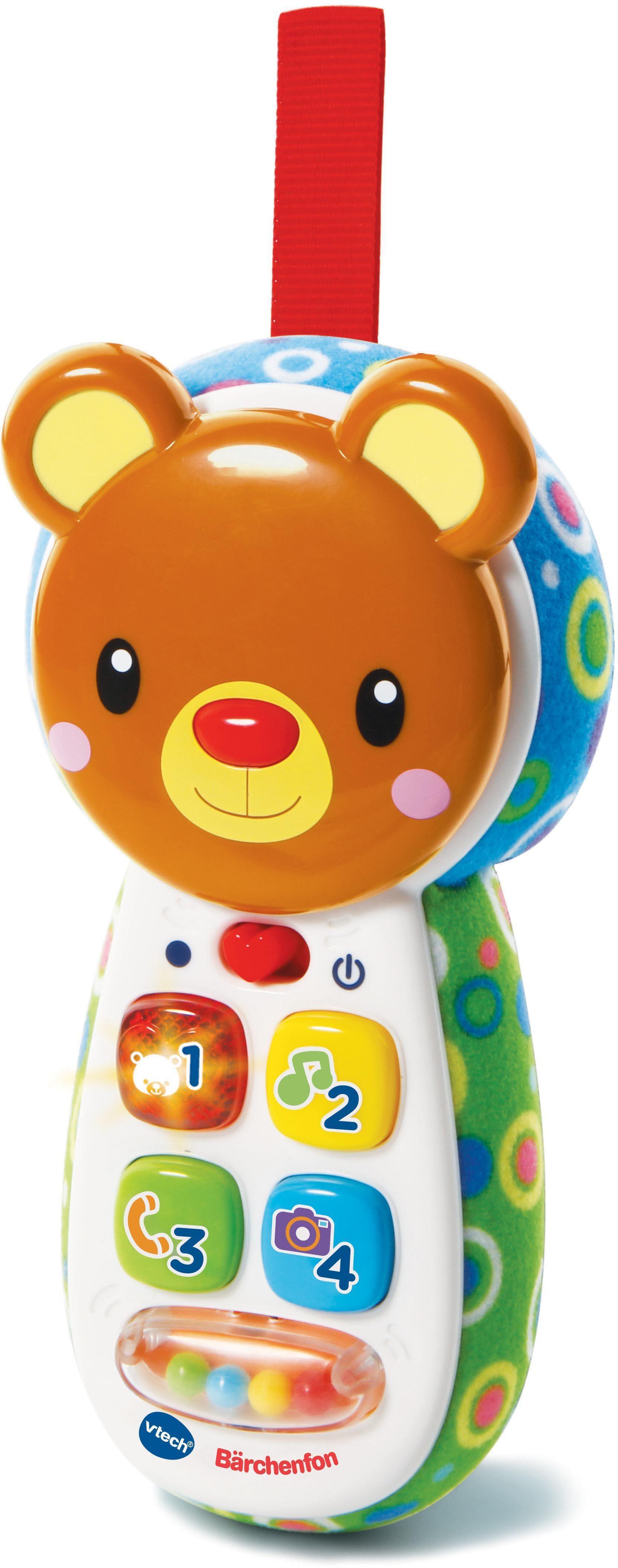 VTech Lernspielzeug mit Sound, »VTech Baby Bärchenfon blau/grün«