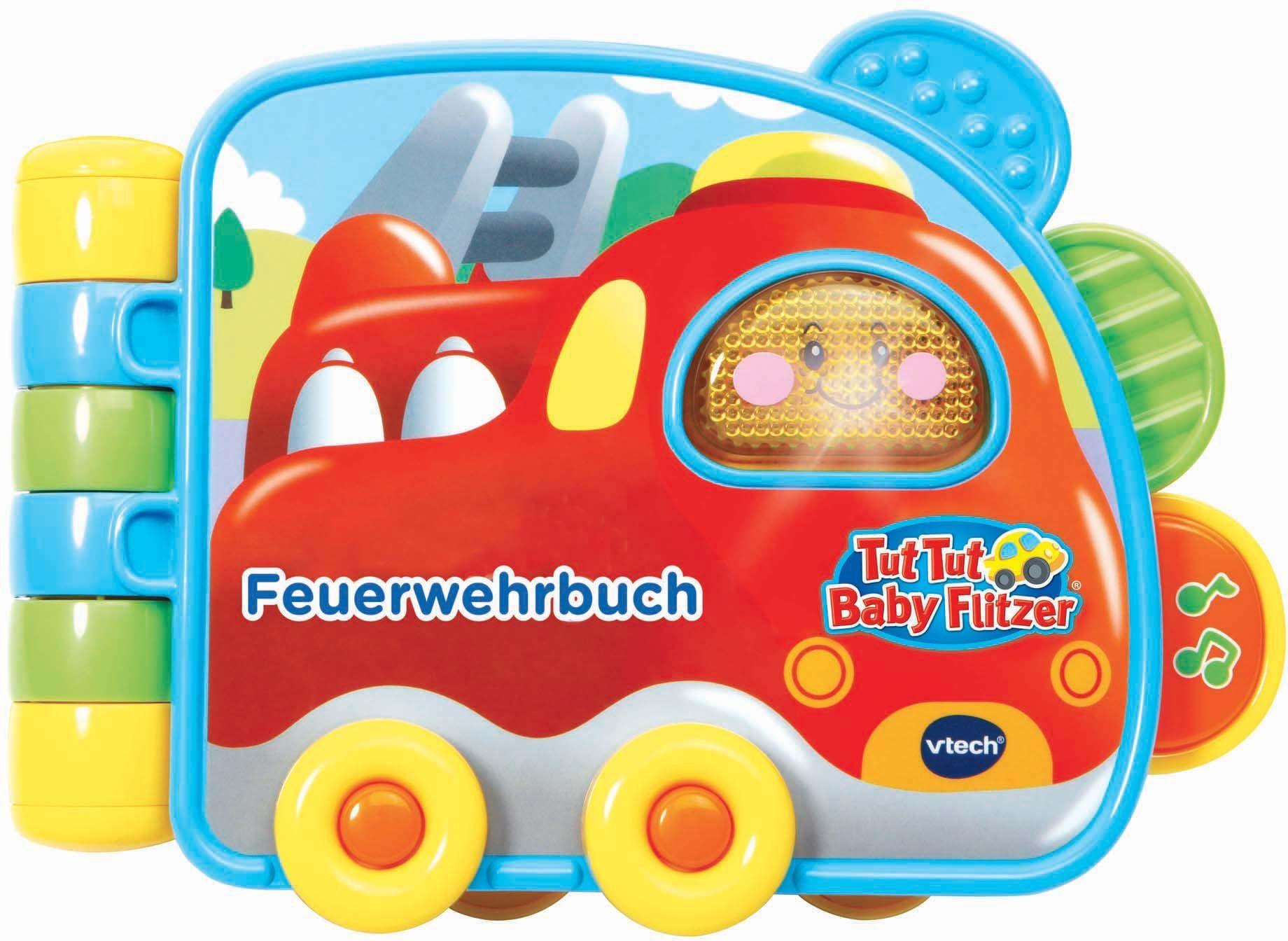 VTech Spielbuch mit Sound, »Tut Tut Baby Flitzer Feuerwehrbuch«