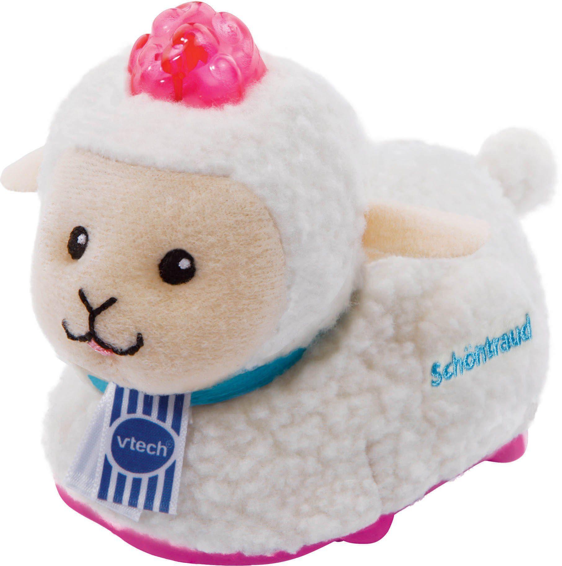 VTech Kuschelige Spielfigur mit Licht und Sound, »Tip Tap Baby Tiere Plüsch Schaf«