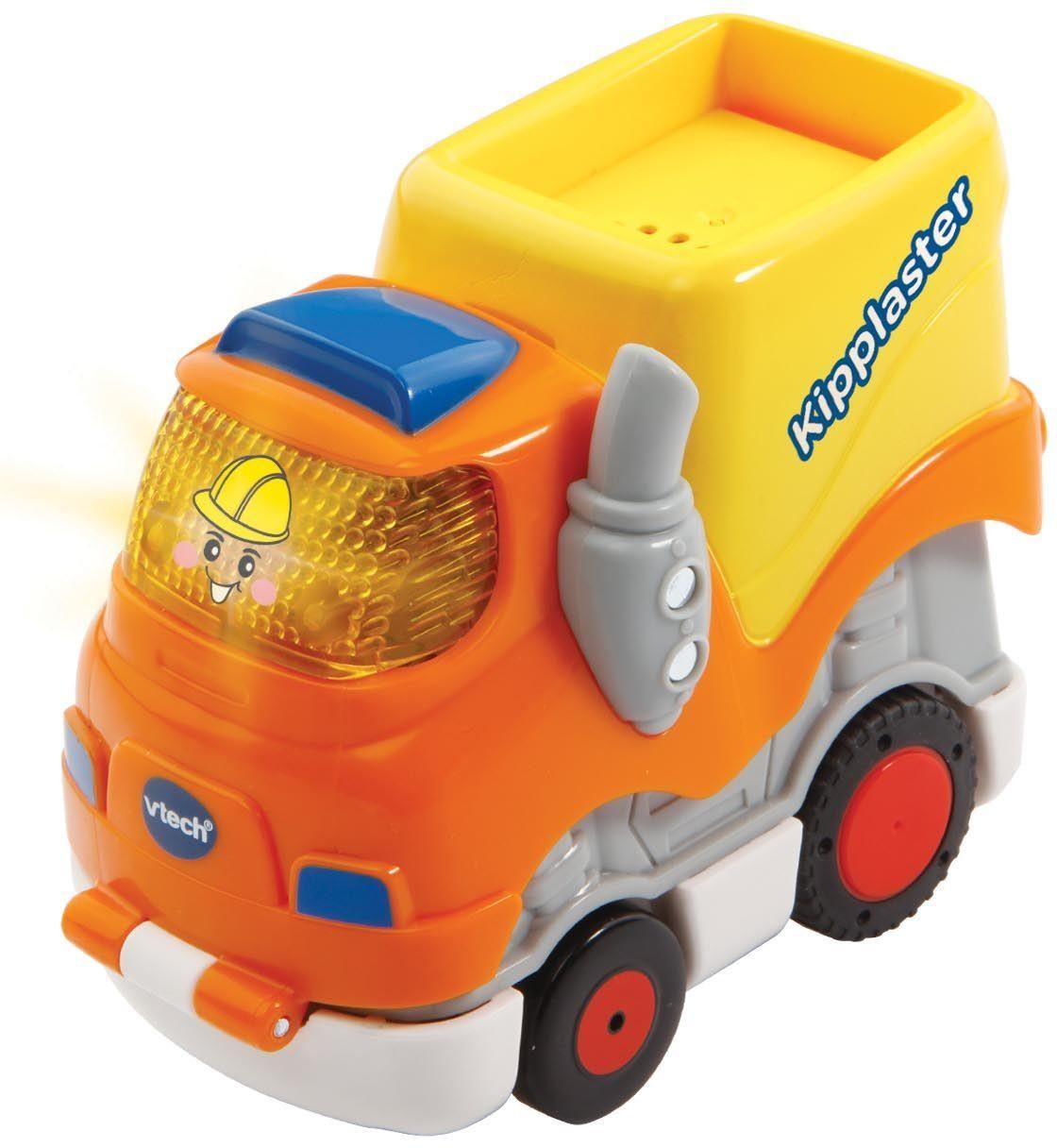VTech Spielfahrzeug mit Licht und Sound, »Tut Tut Baby Flitzer Press & Go Kipplaster«