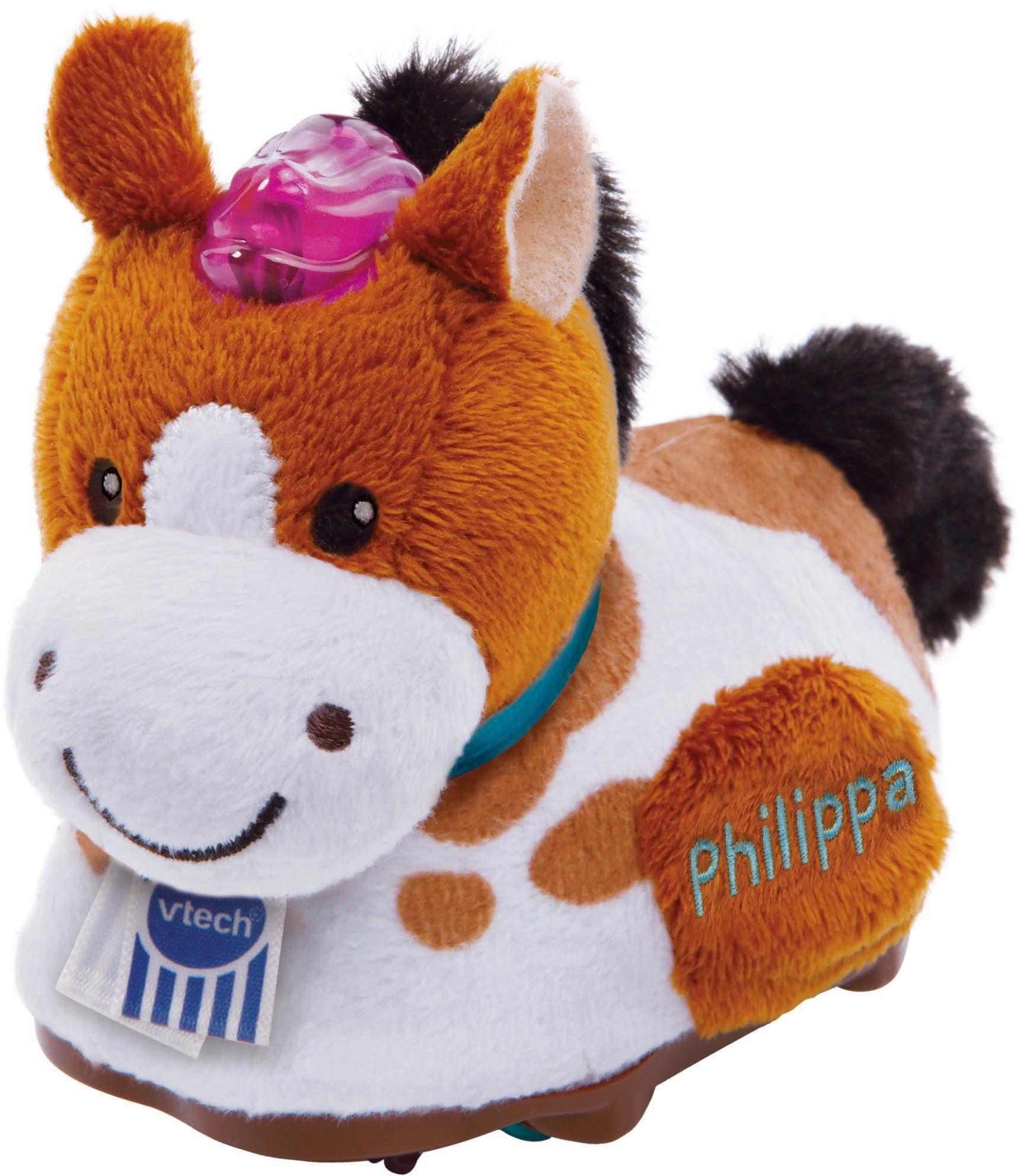 VTech Kuschelige Spielfigur mit Licht und Sound, »Tip Tap Baby Tiere Plüsch Pferd«