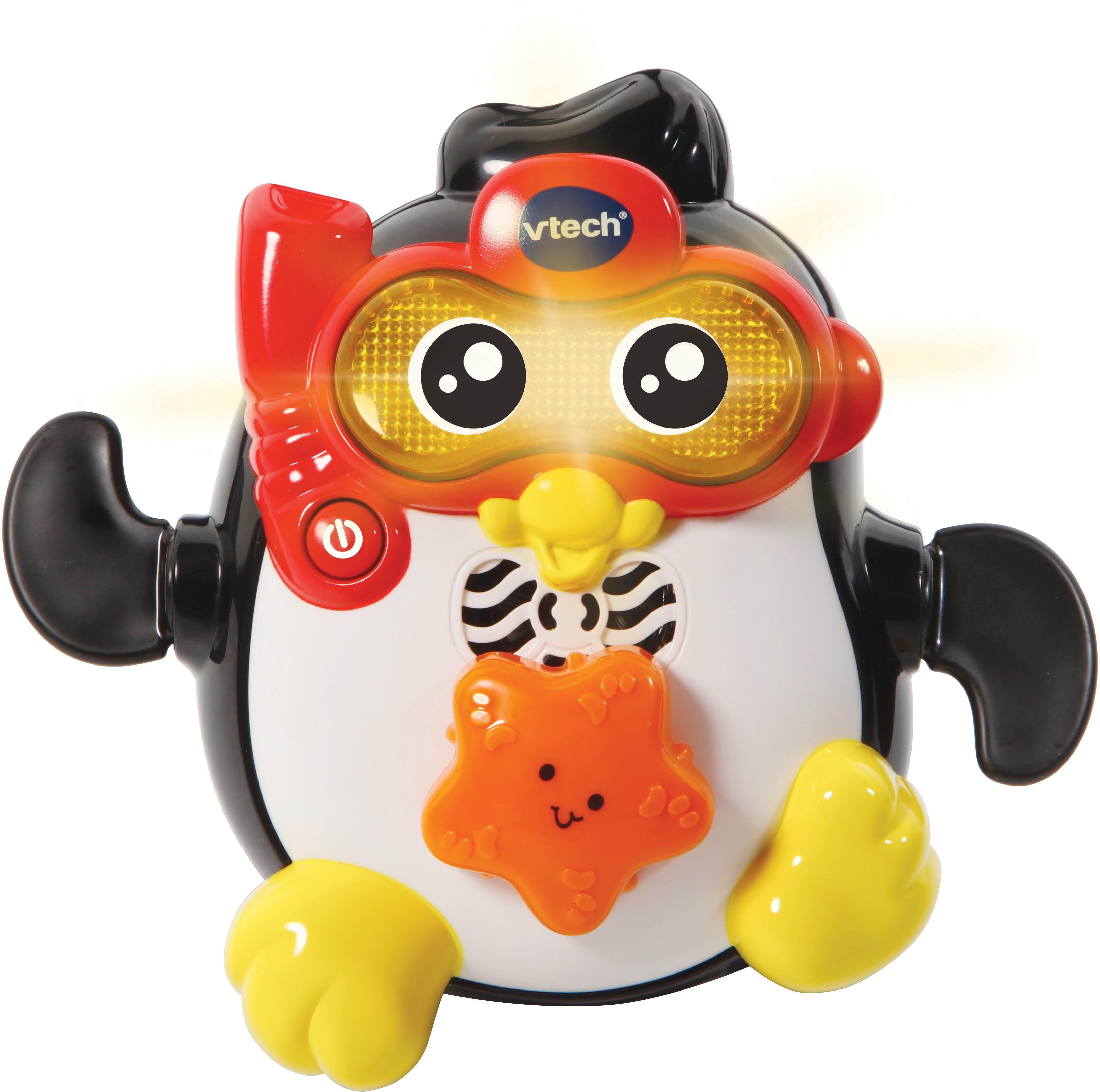 VTech Badespielzeug mit Licht und Sound, »Vtech Baby Badespaß Paddel Pinguin«