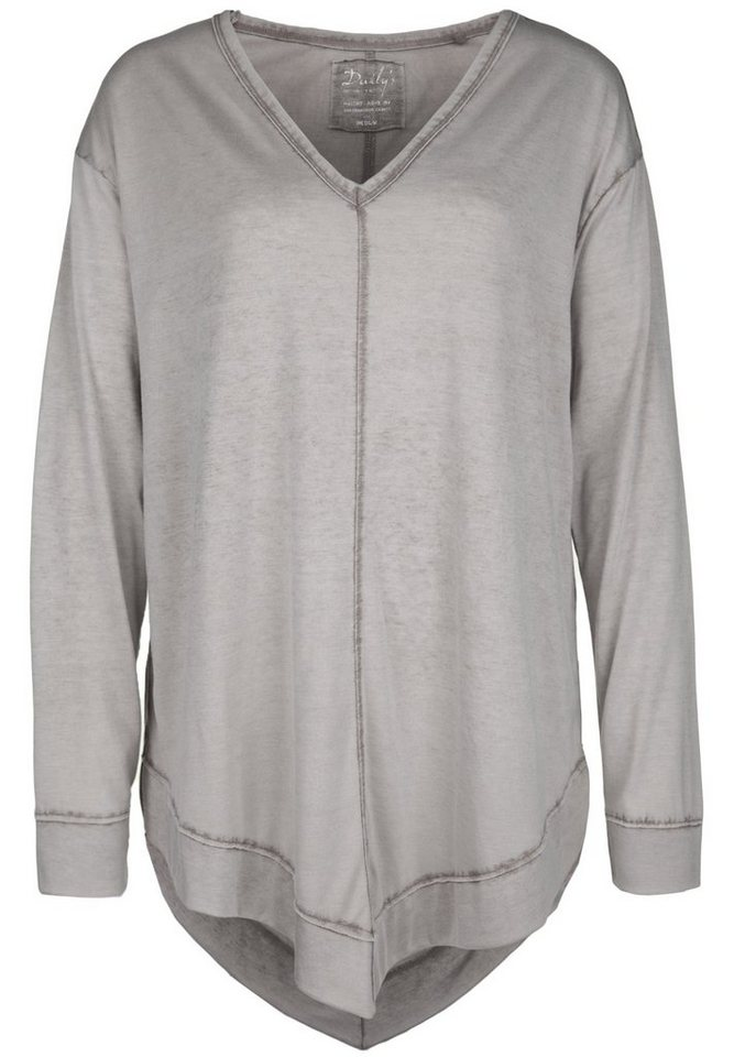 DAILY'S NOTHING'S BETTER Longsleeve »HASINE« in taupe