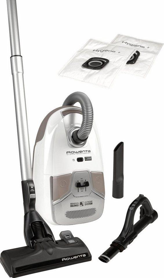 rowenta bodenstaubsauger ro6327ea silence force compact 750 watt mit beutel online kaufen otto. Black Bedroom Furniture Sets. Home Design Ideas