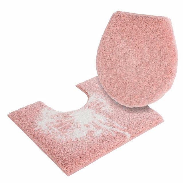 Badematte »Pusteblume« GRUND exklusiv, Höhe 20 mm, Pastell | Bad > Badgarnituren > Badvorleger | Rosa | Polyacryl | GRUND exklusiv