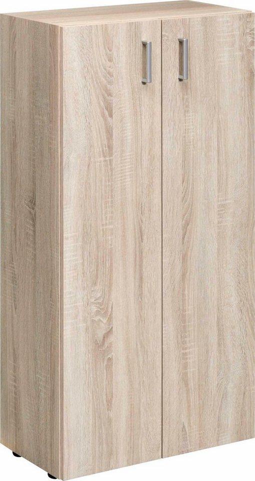 cs schmal kommode trio breite 60 cm mit 2 verstellbaren einlegeb den online kaufen otto. Black Bedroom Furniture Sets. Home Design Ideas