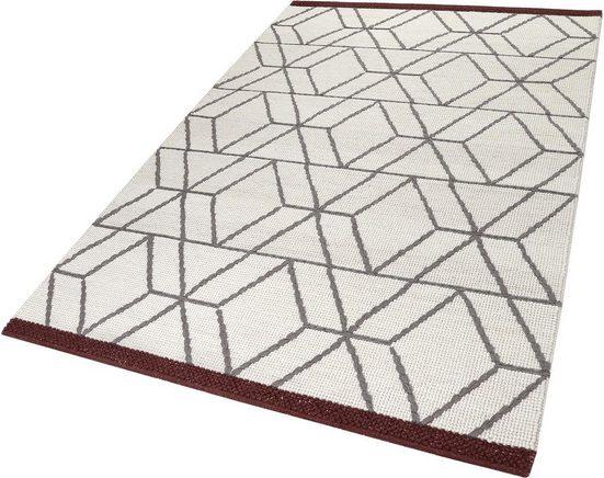 Teppich »Hexagon«, Esprit, rechteckig, Höhe 8 mm, Wohnzimmer