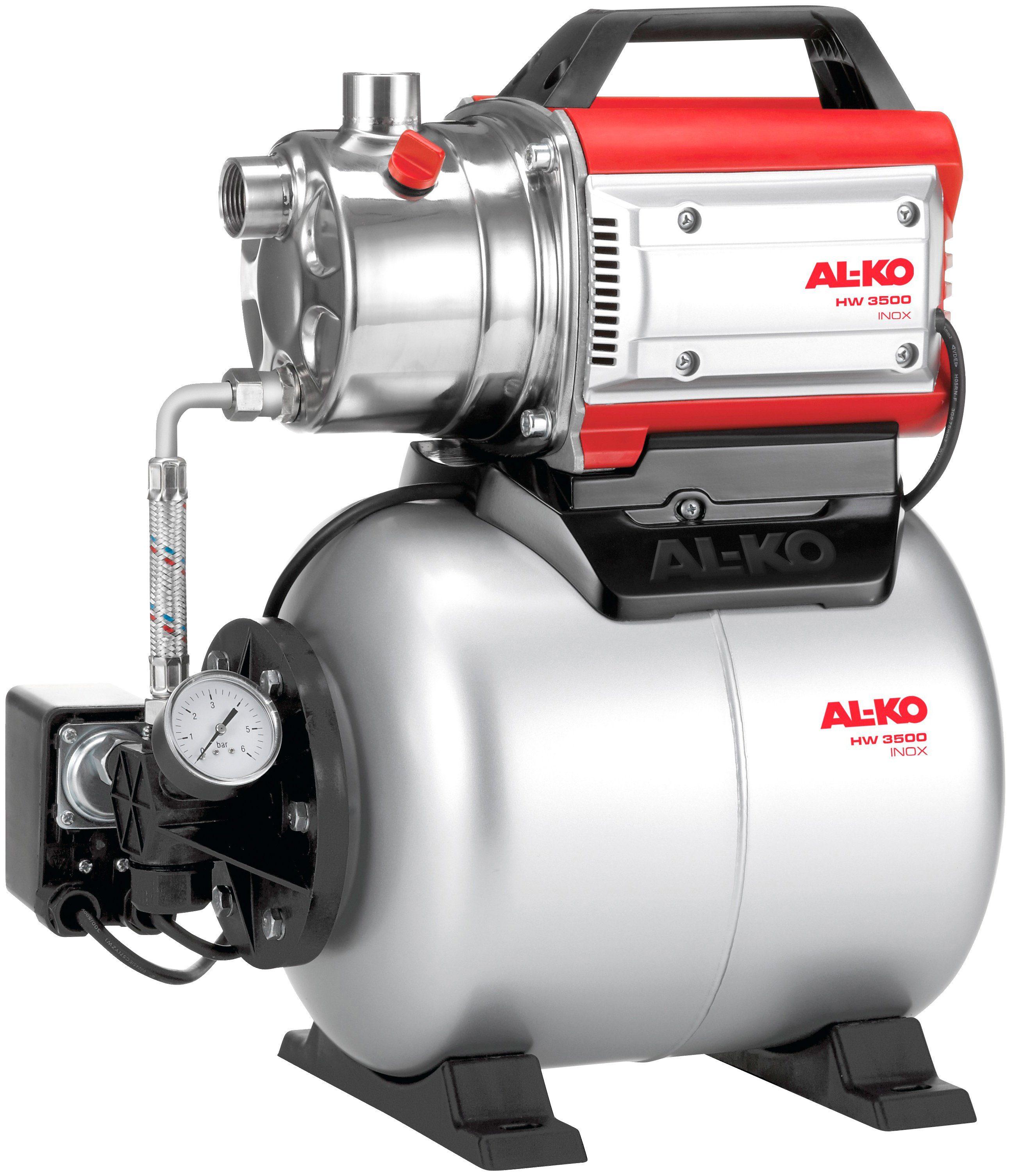 AL-KO Hauswasserwerk »HW 3500 INOX CLASSIC«