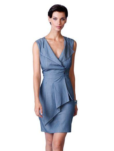 Alba Moda Kleid mit Volant aus softer und edler Qualität