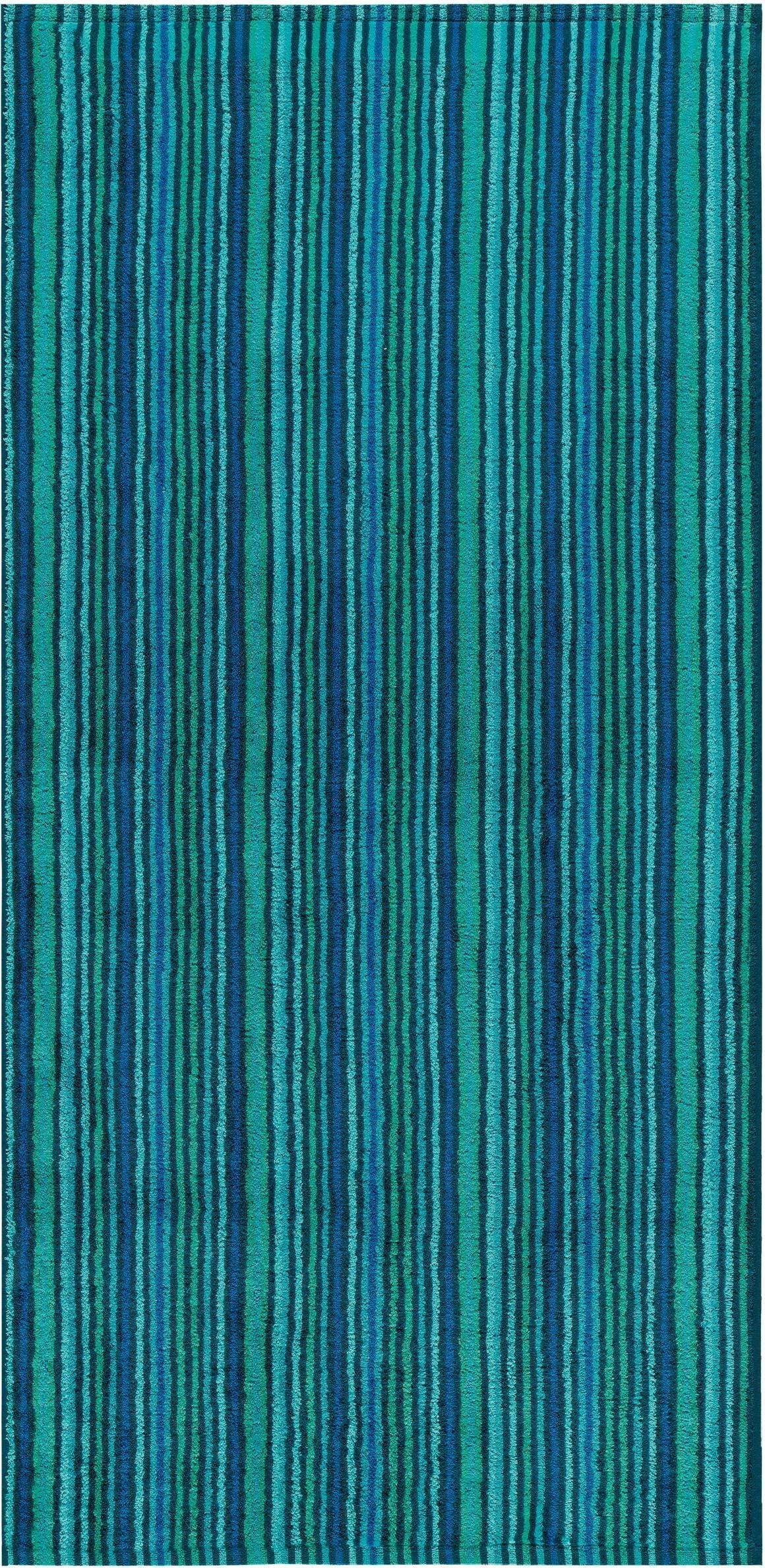 Badetuch, Egeria, »Combi Stripes«, mit feinen Streifen | Bad > Handtücher > Badetücher | Egeria