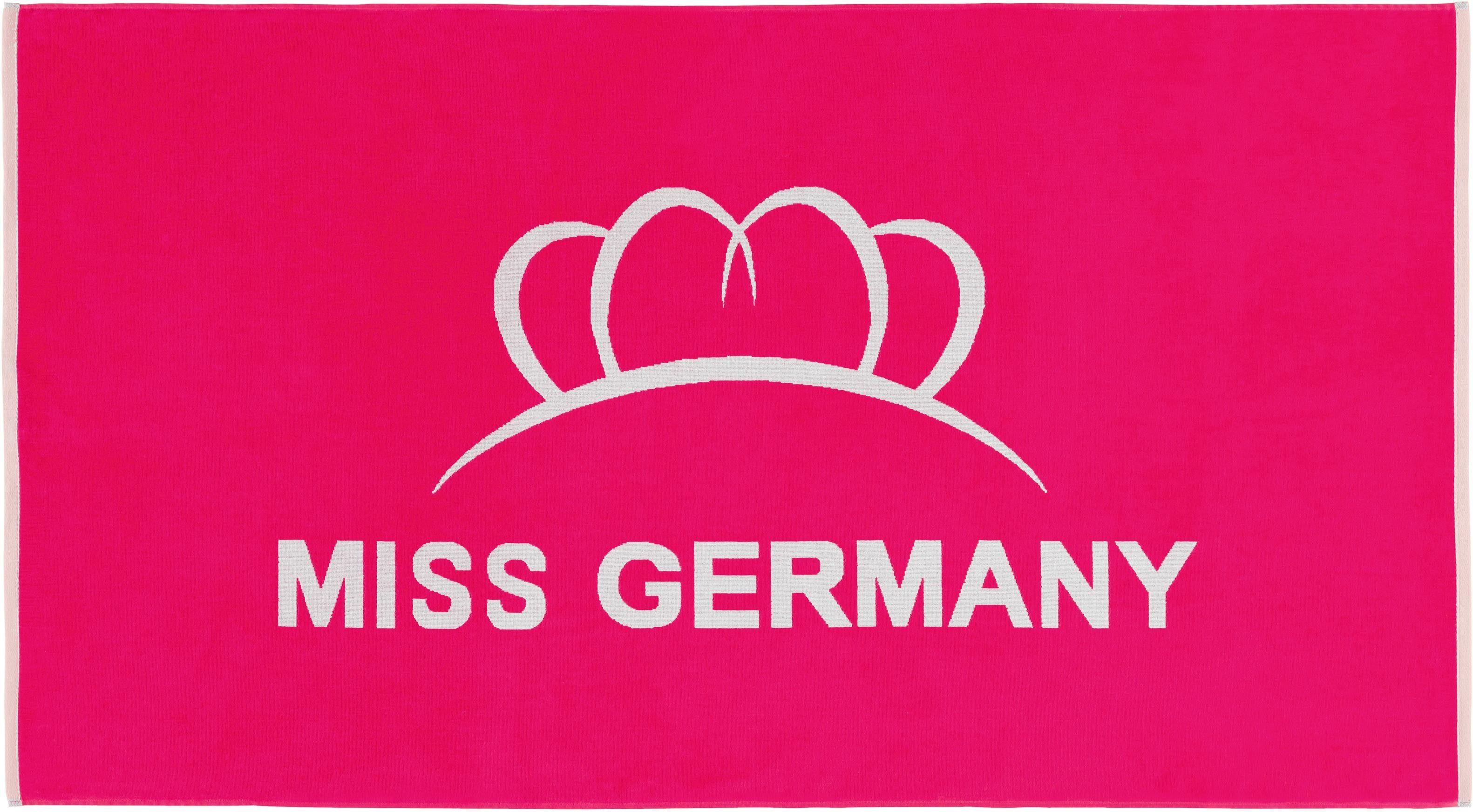 Strandtuch, Miss Germany, »Missy«, mit großem Logo-Motiv