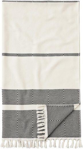 Hamamtuch »1555HTPESTEMAH«, Egeria, mit Muster