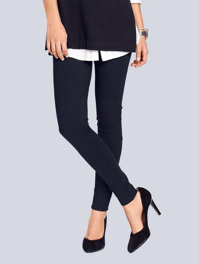 Alba Moda Leggings in fester, figurschmeichelnder Qualität