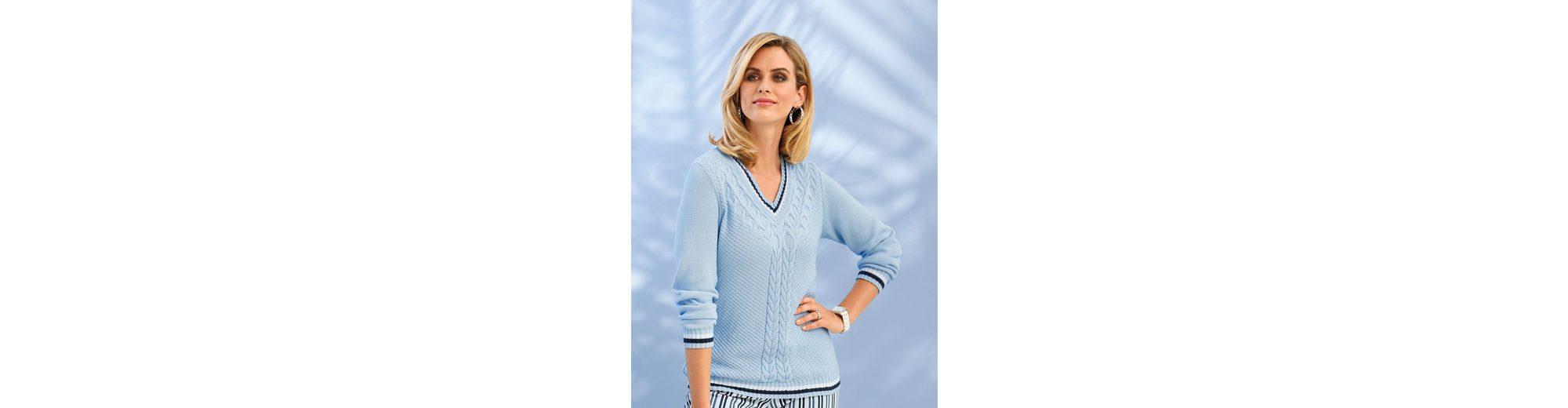 Mona Pullover mit Zopfstruktur Auslass Größte Lieferant Billig Verkauf Bestes Geschäft Zu Bekommen pCMq9mr97m