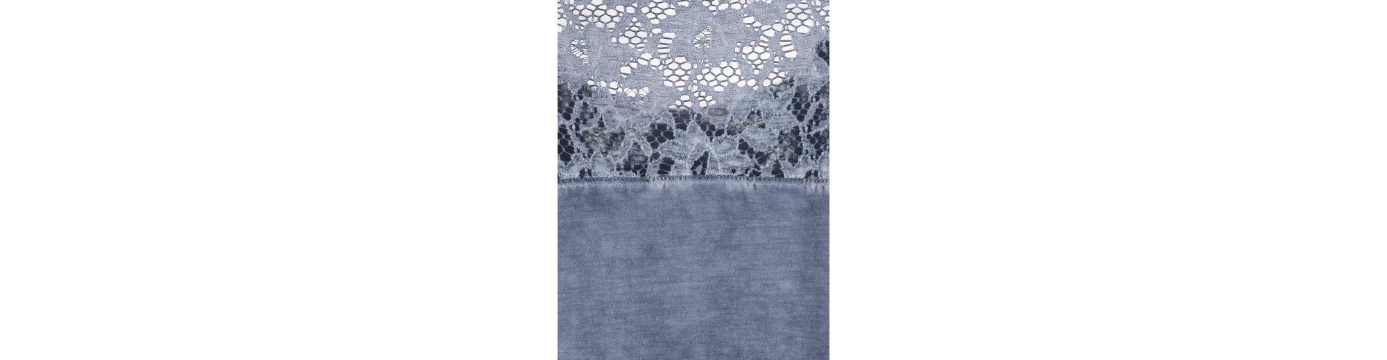 Spitzenapplikation Mona Shirt Shirt Mona mit mit wzXzUTxq