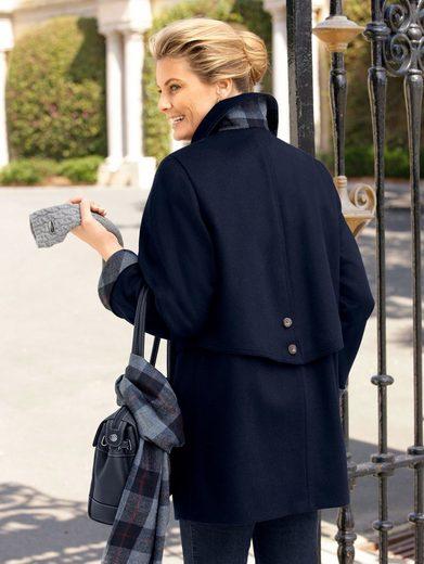 Mona Lodenjacke mit Schal aus hochwertiger Schurwolle