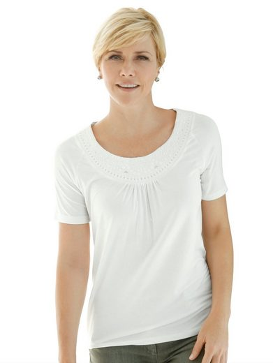 Mona Shirt mit Zierstickerei