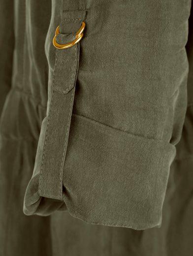 Alba Moda Overall im Military-Stil mit aufwändigen Details