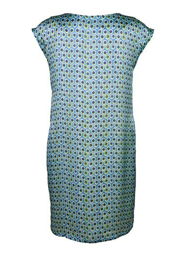 Alba Moda Seidenkleid im Tupfendessin