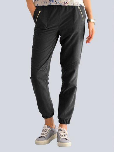 Alba Moda Joggpants mit Zippertaschen