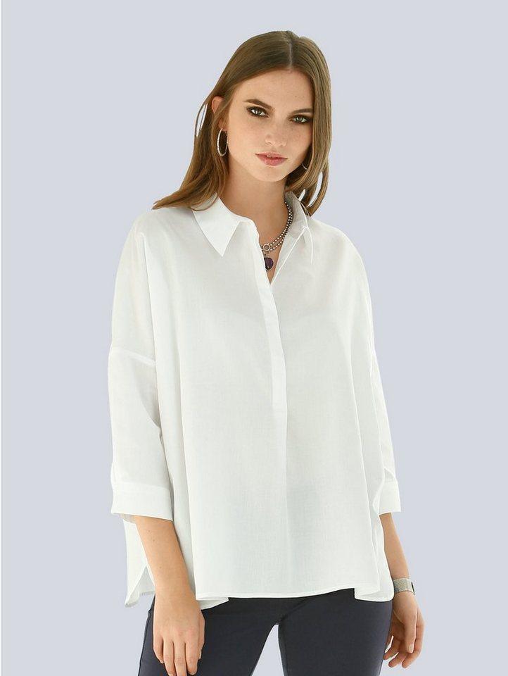 hot sale online quite nice pretty cheap Alba Moda Bluse in Oversized-Form online kaufen   OTTO