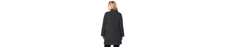 sheego Style Kurzmantel, Teilungsnähte vorne und hinten