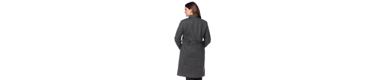 sheego Style Kurzmantel, Riegel mit Knöpfen auf den Schultern und im Rücken