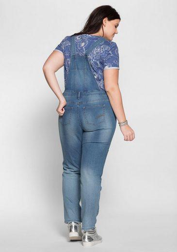 sheego Denim Stretch-Jeans, Verstellbare Träger
