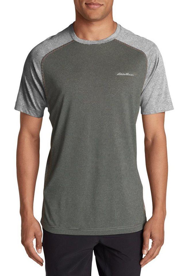 Eddie Bauer Resolution Shirt gestreift in Grau