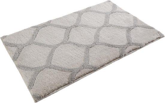Badematte »Oriental tile« Esprit, Höhe 20 mm, rutschhemmend beschichtet, fußbodenheizungsgeeignet