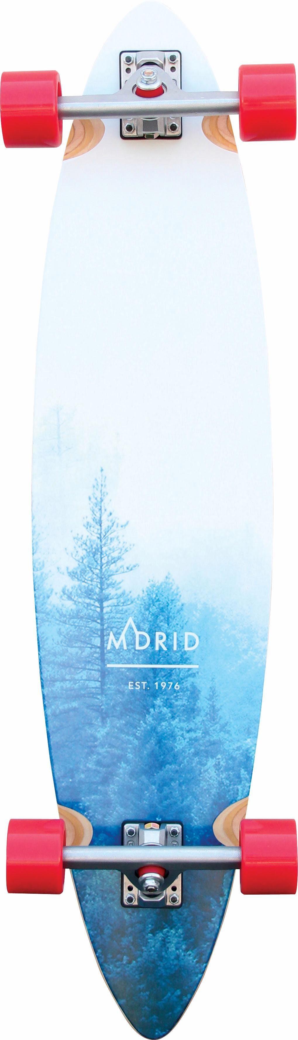 madrid SKATEBOARDS Longboard »Forest«