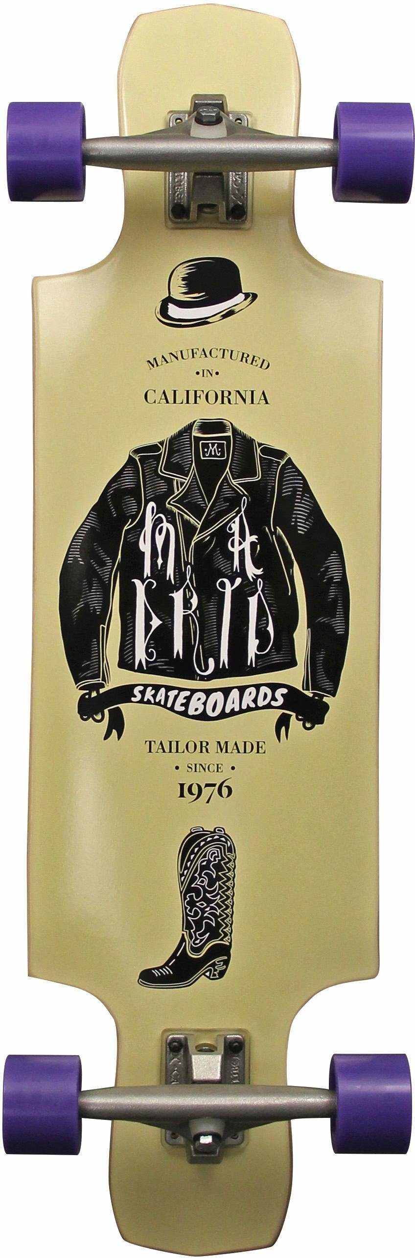 madrid SKATEBOARDS Longboard »Tailored STD«