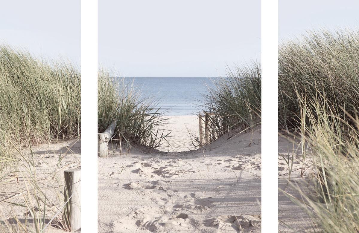 EUROGRAPHICS Wandsticker-Set »Come to the Beach«, 70/50 cm