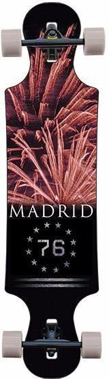 madrid SKATEBOARDS Longboard »Fireworks DT«