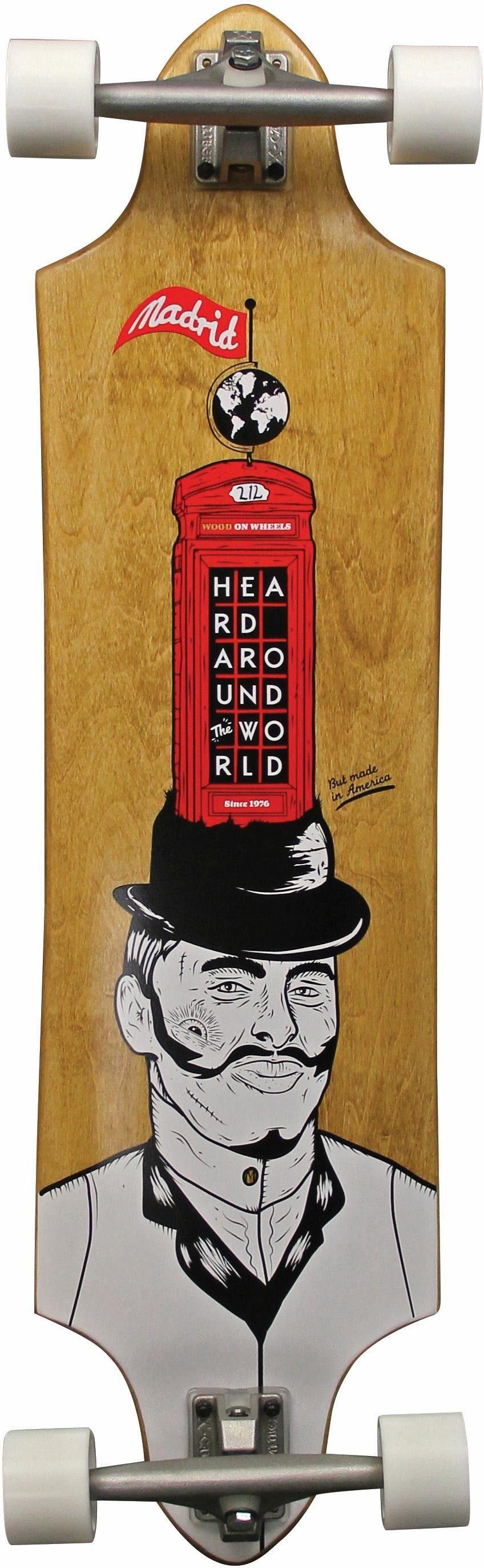 madrid SKATEBOARDS Longboard »Gentleman STD«