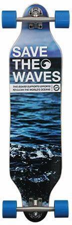 madrid SKATEBOARDS Longboard »Save The Waves«